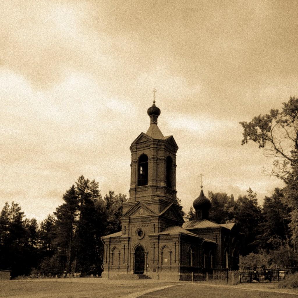 Клязьма у Марково, речка Верхулька, протекающая через село (г. Покров) 04