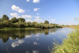 На Нерли, близ села Ославского.