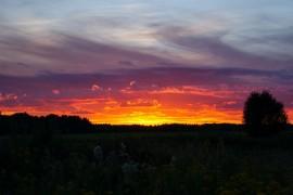 Суздальский район, закаты