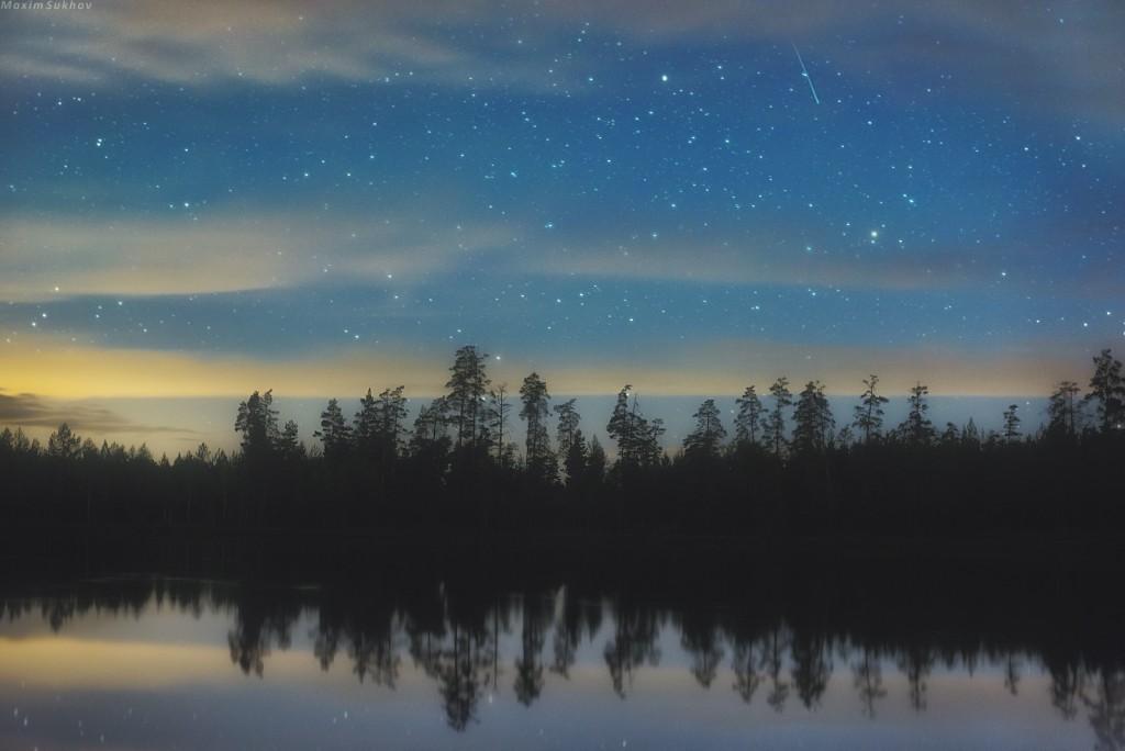 Так ночует озеро Светленькое... (Недалеко от Кщары). Вязниковский район