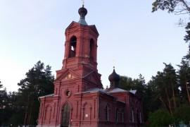 Церковь Казанской иконы Божией Матери. с. Марково, Петушинский район