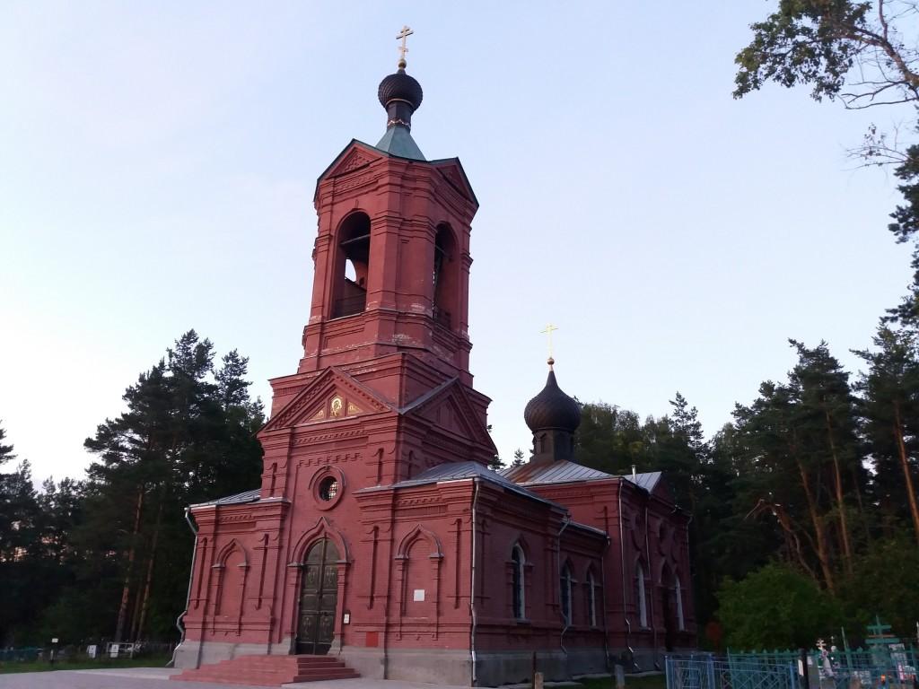 Церковь Казанской иконы Божией Матери. с. Марково, Петушинский район 01