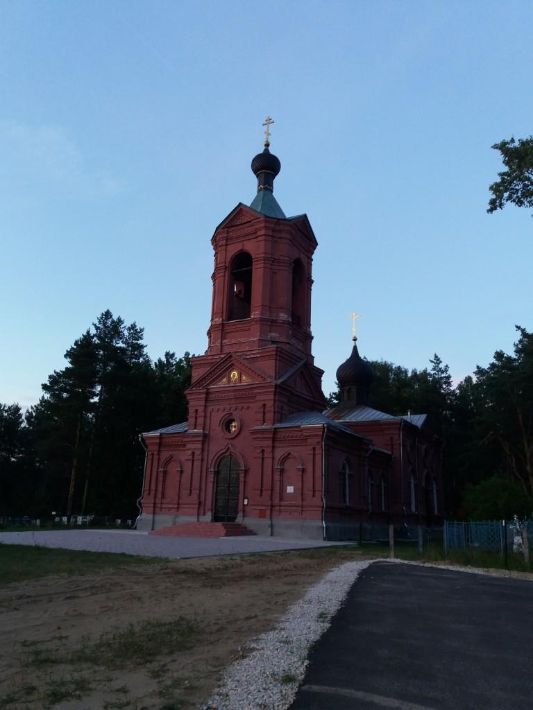 Церковь Казанской иконы Божией Матери. с. Марково, Петушинский район 02