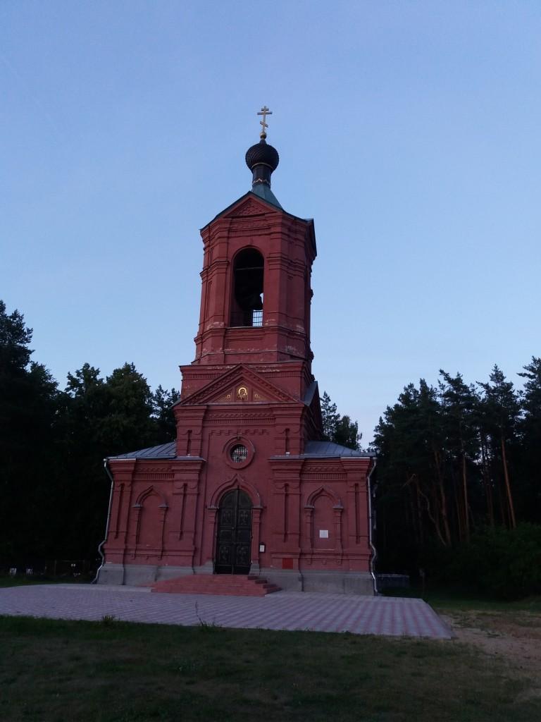 Церковь Казанской иконы Божией Матери. с. Марково, Петушинский район 03