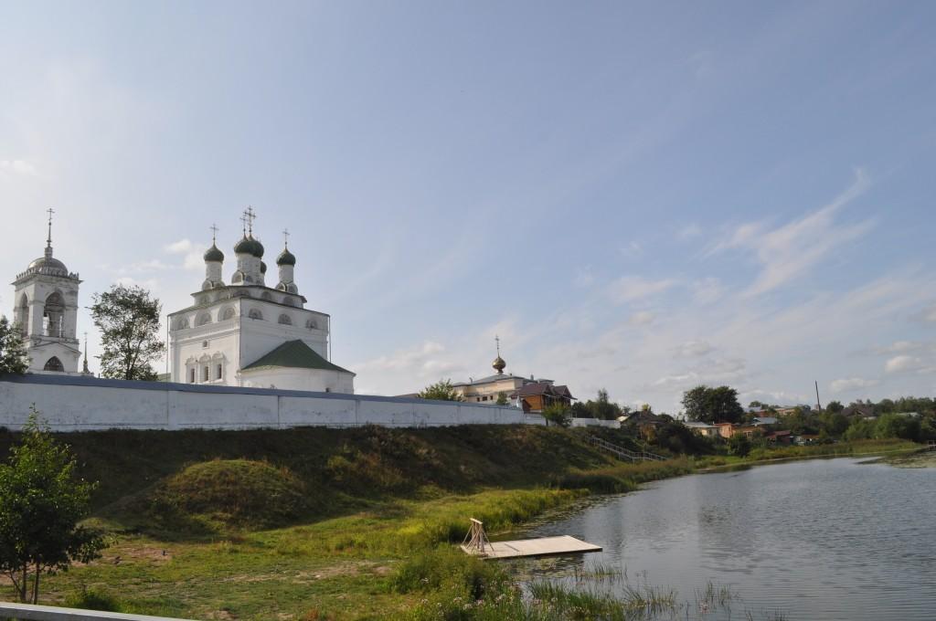 Богоявленский монастырь во Мстере, сентябрь 2018 02