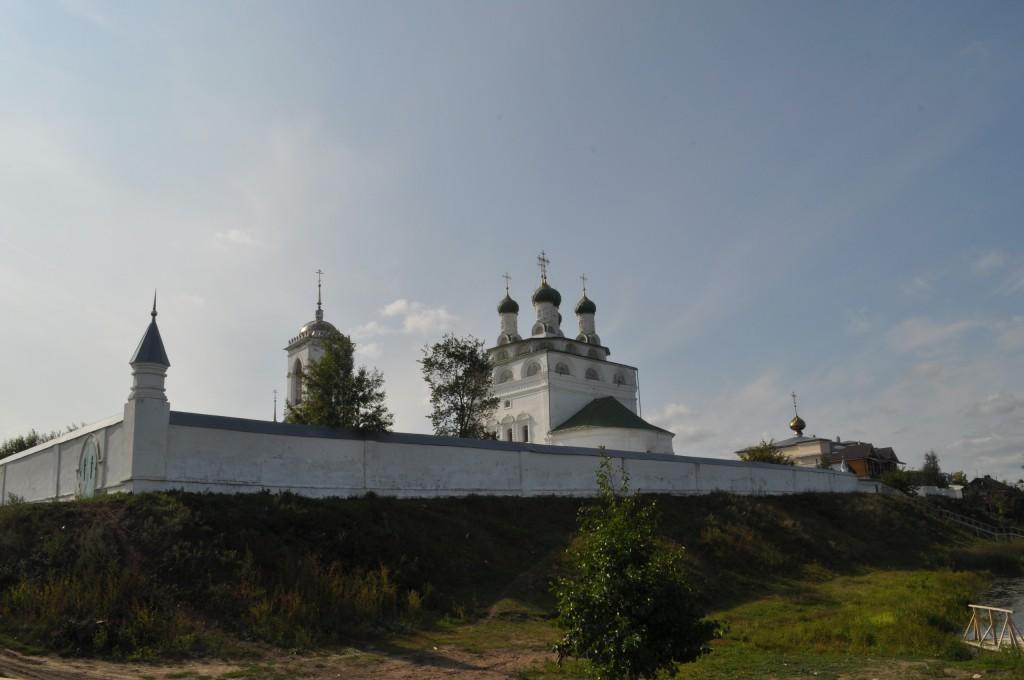 Богоявленский монастырь во Мстере, сентябрь 2018 03