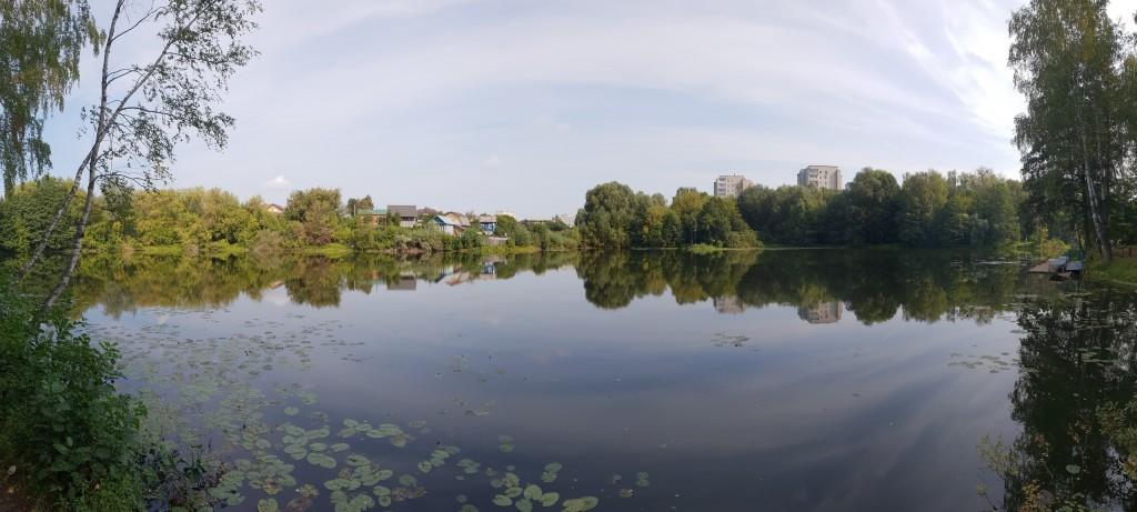 Вербовский, панорама пруда