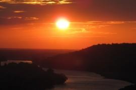 Восход солнца над Клязьмой