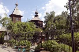 Муром, Троицкий монастырь. Деревянный храм