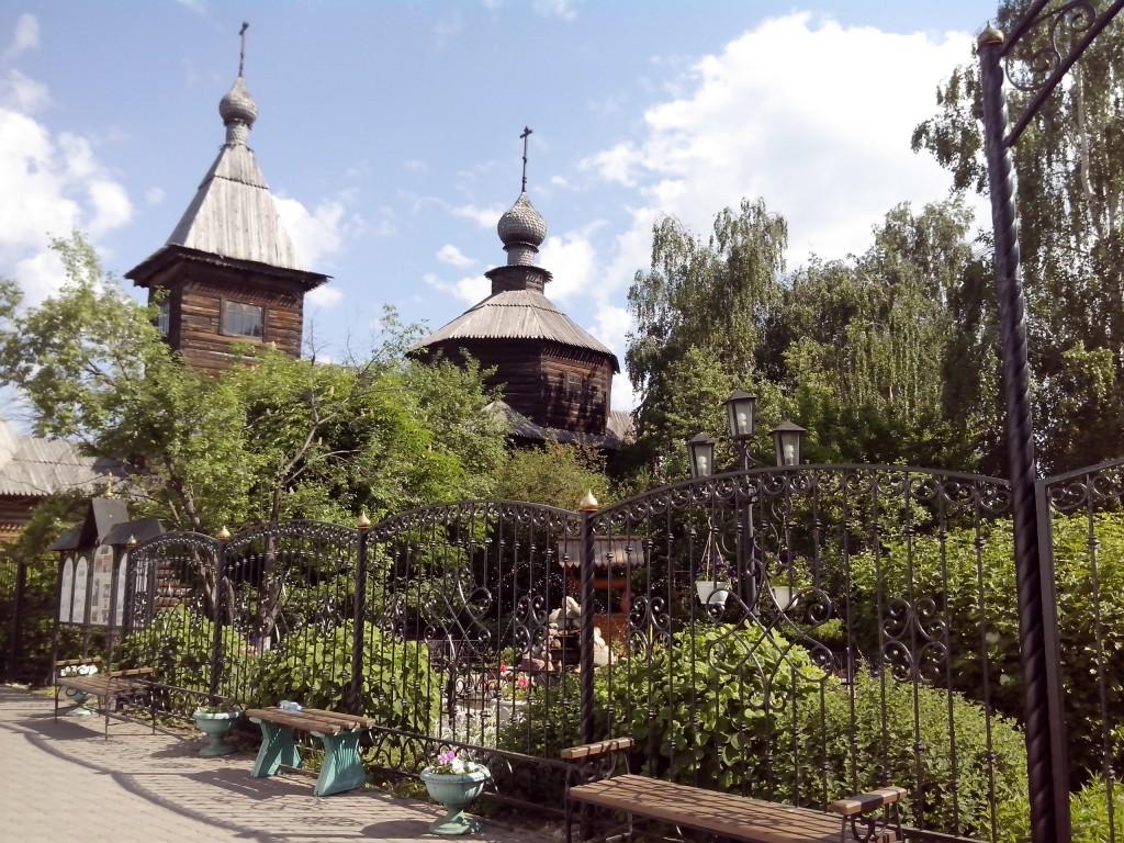 Муром, Троицкий монастырь. Деревянный храм 01