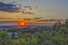 Рассвет на Якушевском озере