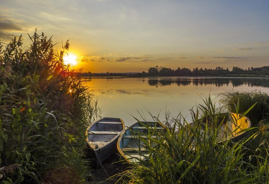 Рассвет на Якушевском озере 05
