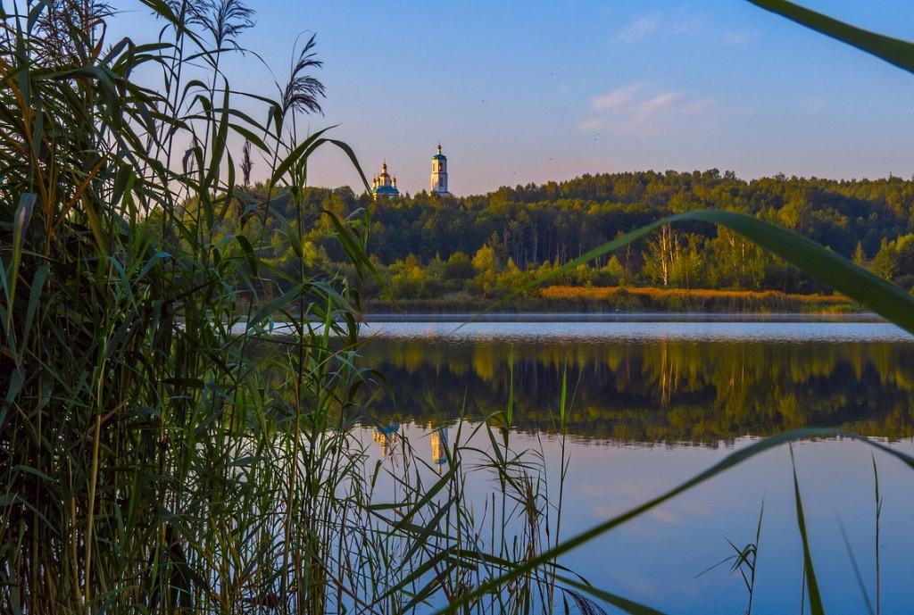 Рассвет на Якушевском озере 06
