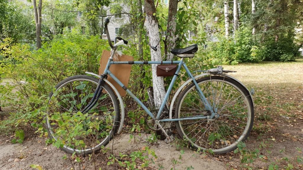 Сентябрь и велосипед