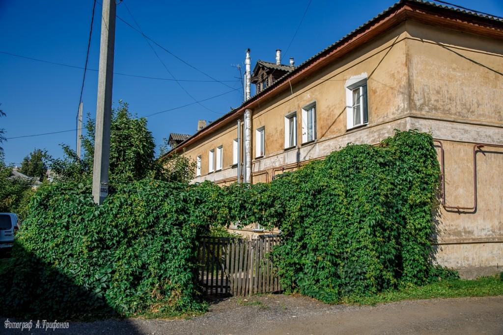 Улица Щербакова в августе 2018, Муром 06
