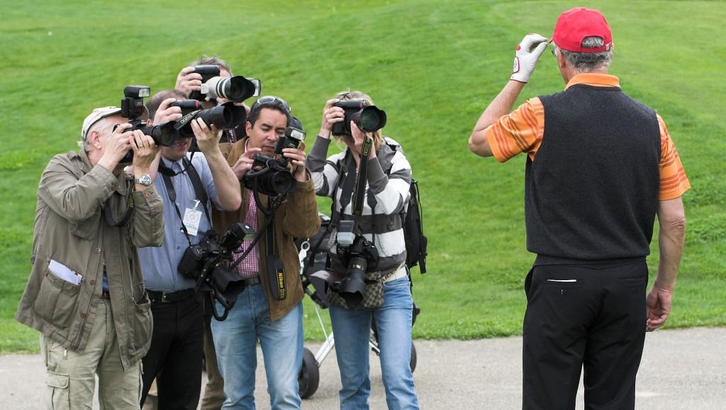 Фотожурналисты за работой. 2008 год