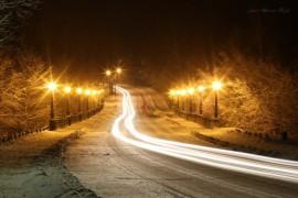 Ночной Вербовский. Фотограф — Aleksandr Kozlov