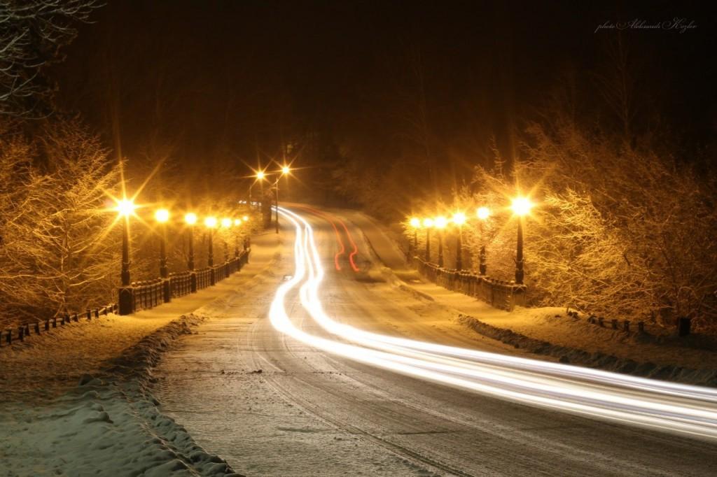 Ночной Вербовский. Фотограф - Aleksandr Kozlov 01