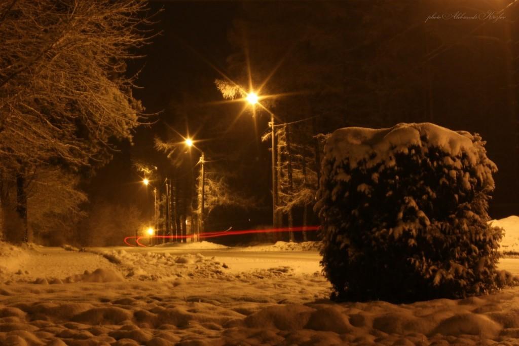 Ночной Вербовский. Фотограф - Aleksandr Kozlov 02
