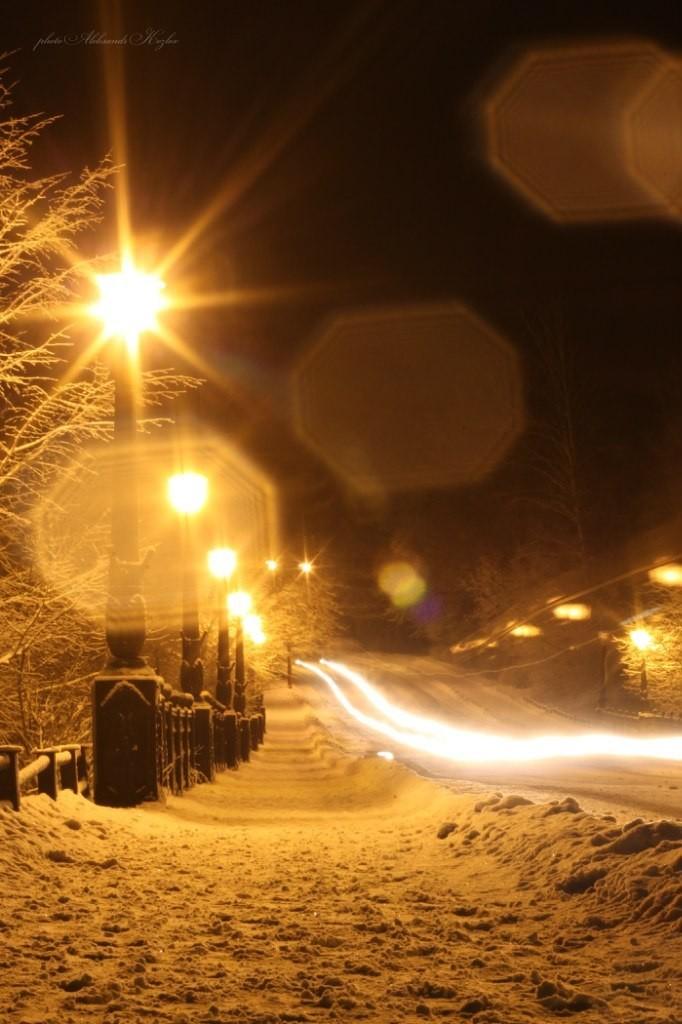 Ночной Вербовский. Фотограф - Aleksandr Kozlov 04
