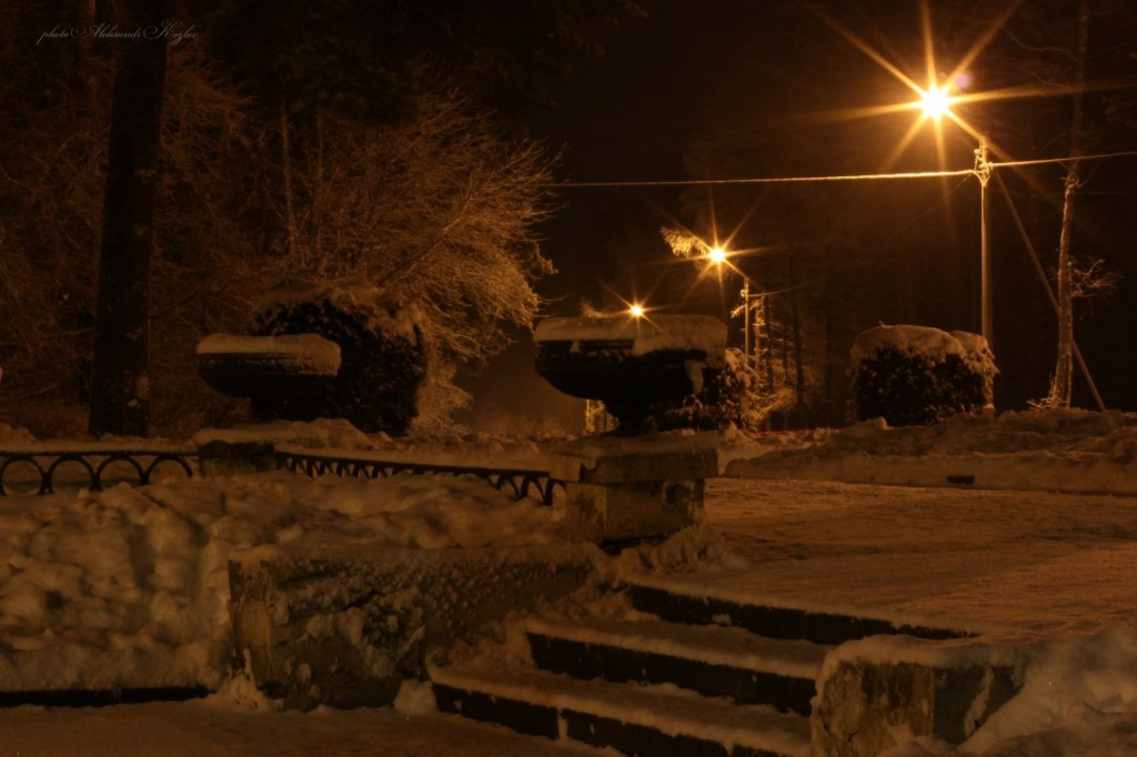 Ночной Вербовский. Фотограф - Aleksandr Kozlov 05