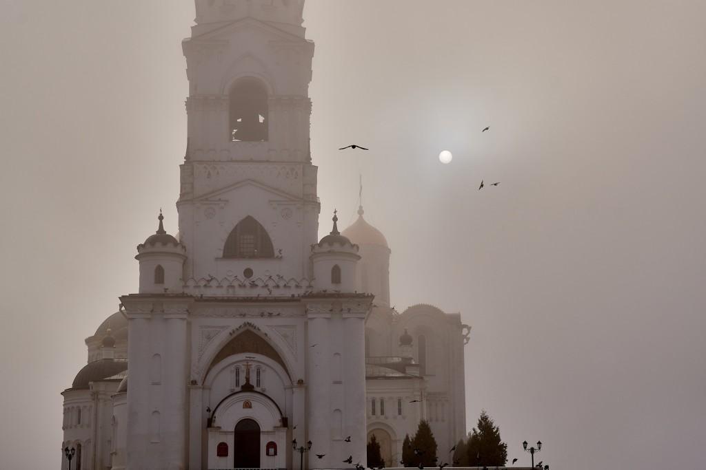Начало ноября неожиданно порадовало...туманом 03