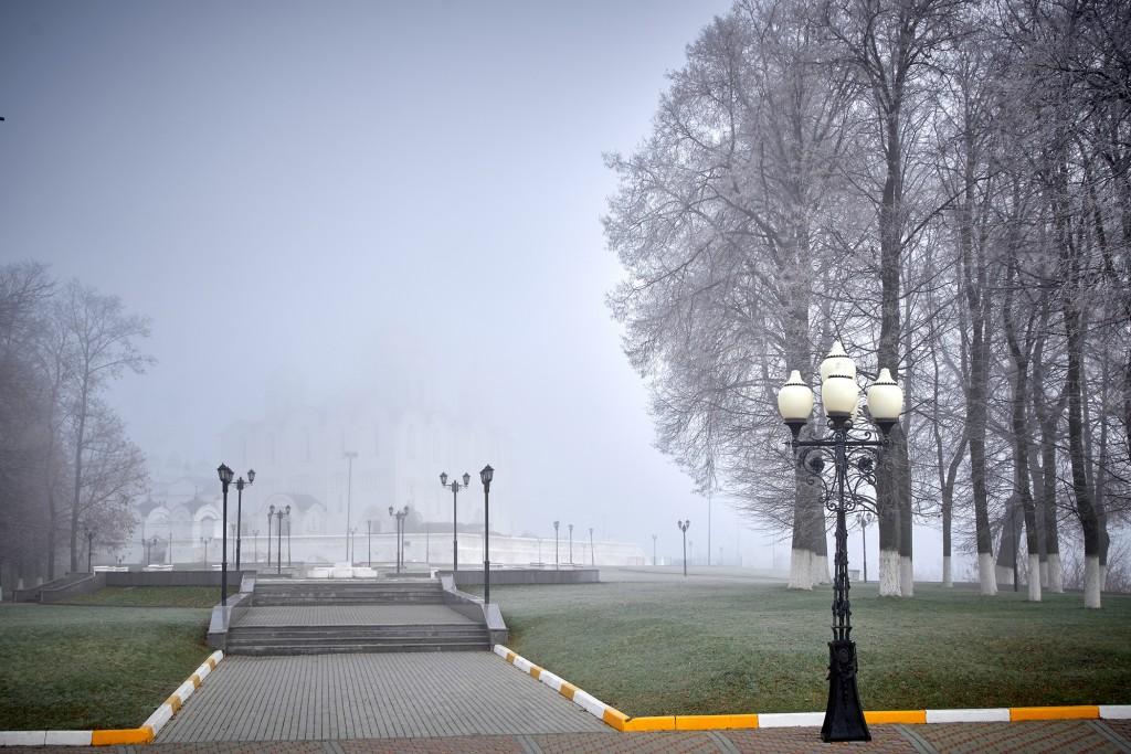 Начало ноября неожиданно порадовало...туманом 05