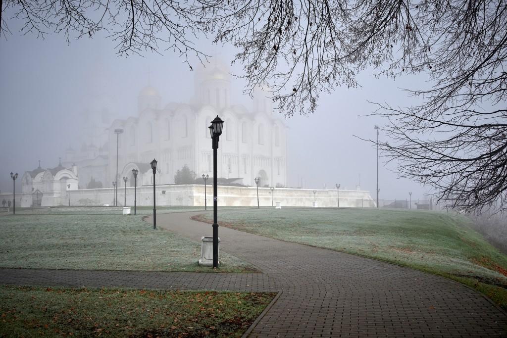 Начало ноября неожиданно порадовало...туманом 07