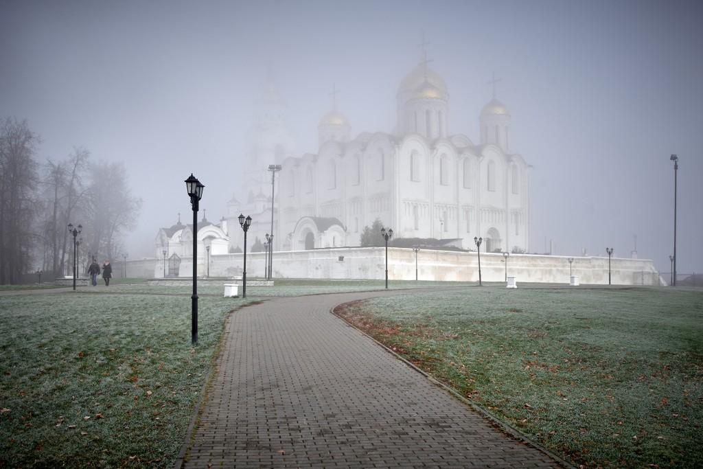 Начало ноября неожиданно порадовало...туманом 08