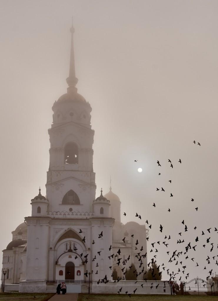 Начало ноября неожиданно порадовало...туманом 10