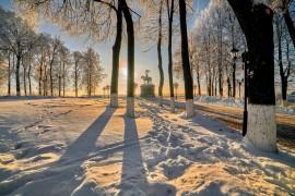 Владимир, декабрь 2018, мороз