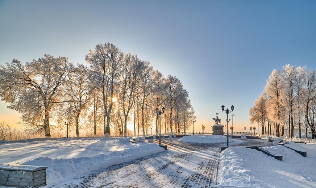 Владимир, декабрь 2018, мороз 04
