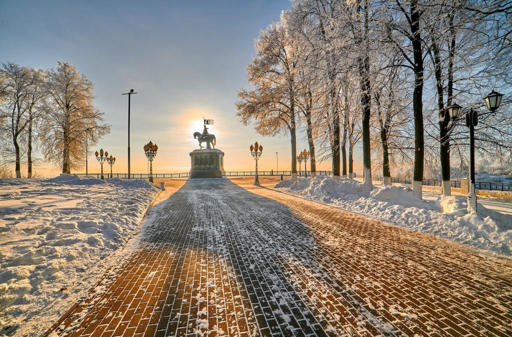 Владимир, декабрь 2018, мороз 06
