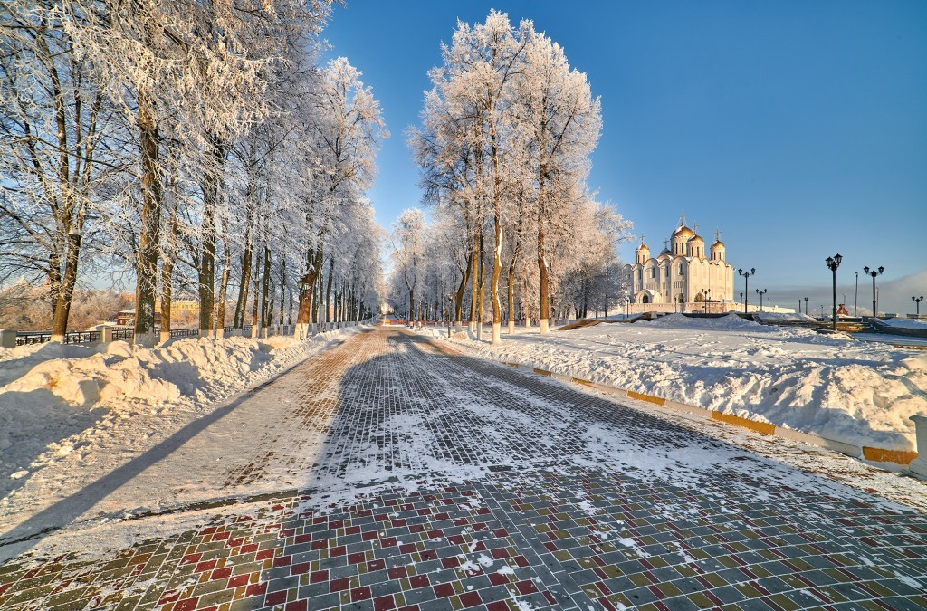Владимир, декабрь 2018, мороз 07