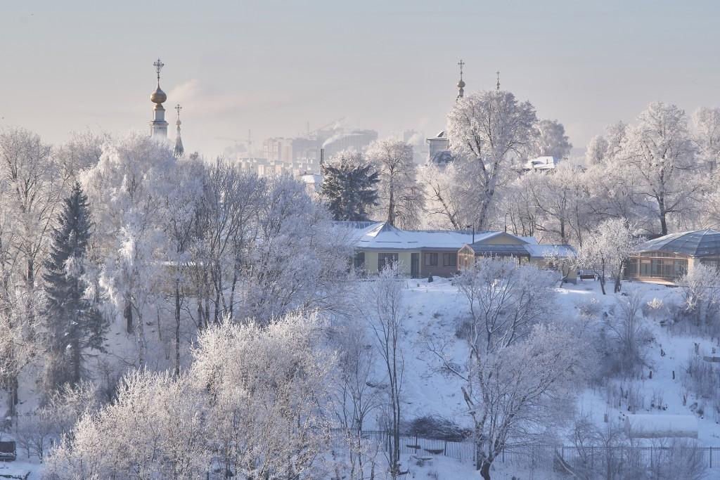 Владимир, декабрь 2018, мороз 09