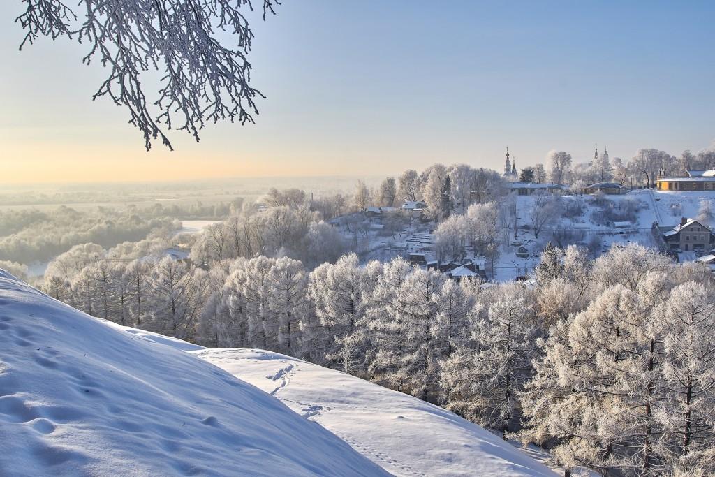 Владимир, декабрь 2018, мороз 10