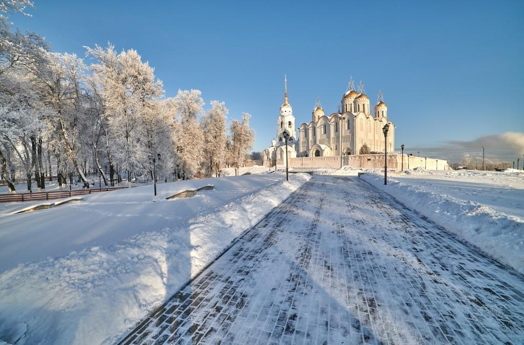 Владимир, мороз подарил удивительные картины. 10
