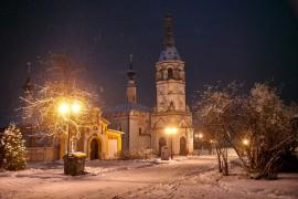 Зимняя сказка в Суздале
