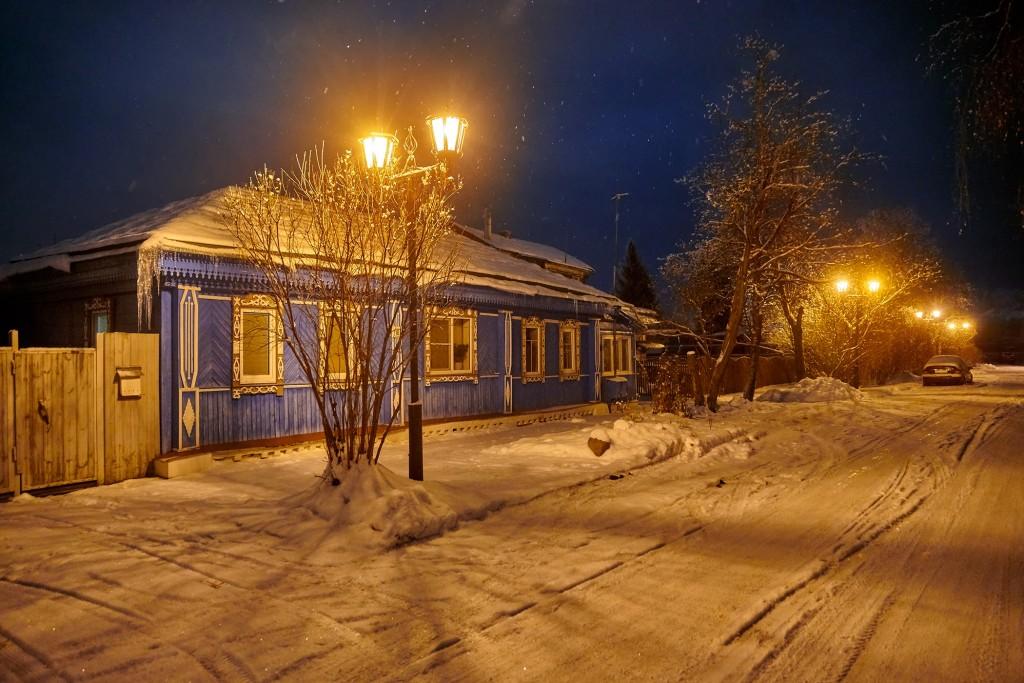 Зимняя сказка в Суздале 09