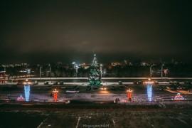 Немного владимирских новогодних декораций (декабрь 2018)