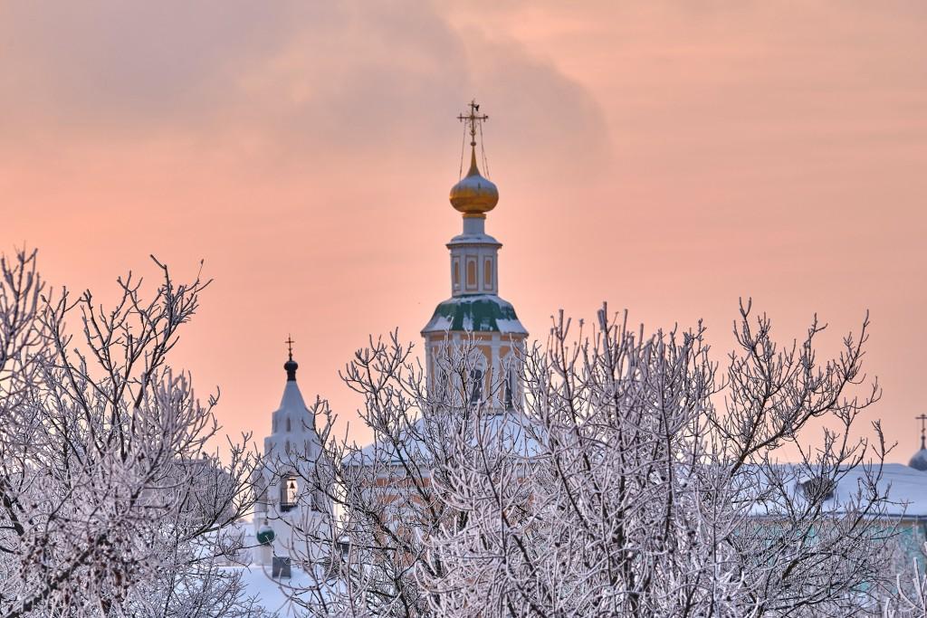 Еще один яркий, январский закат (Владимир, 2019) 09