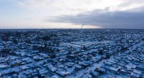 Зимний Ковров с высоты 2019