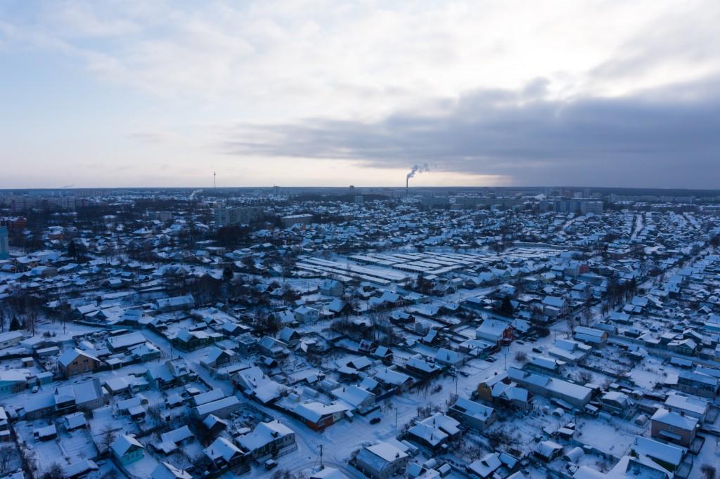 Зимний Ковров с высоты 2019 01