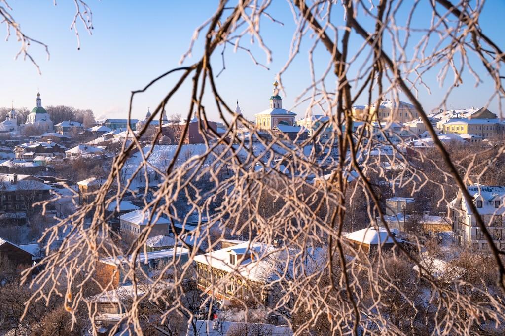 Легкий январский мороз 04