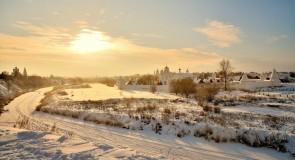 Морозный Суздаль, 28 декабря 2018). Цвет Новогодний!
