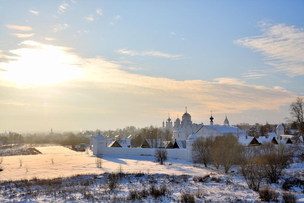Морозный Суздаль, 28 декабря 2018). Цвет Новогодний! 02