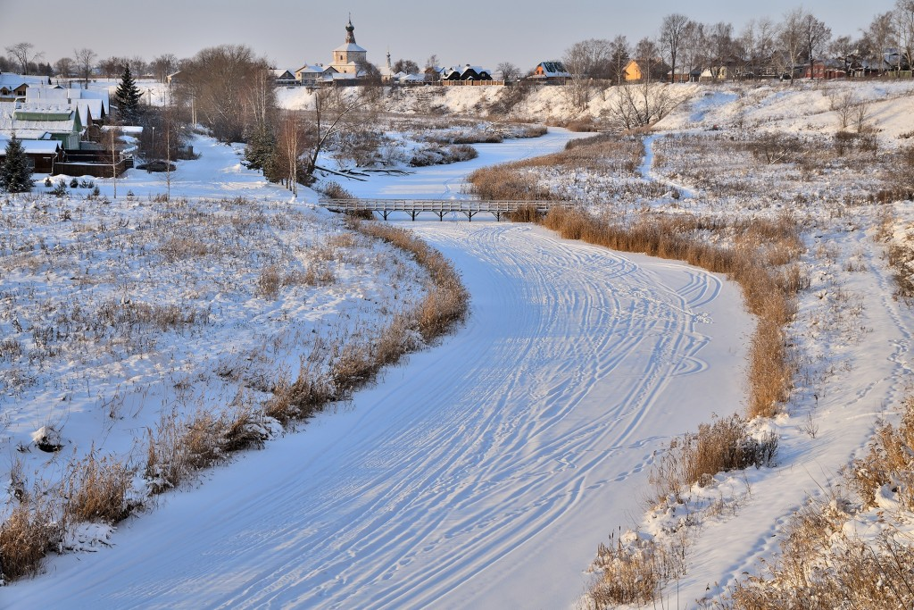 Морозный Суздаль, 28 декабря 2018). Цвет Новогодний! 04