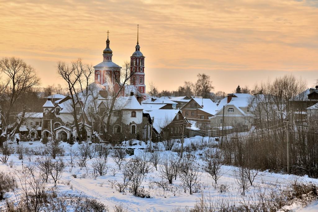 Морозный Суздаль, 28 декабря 2018). Цвет Новогодний! 06