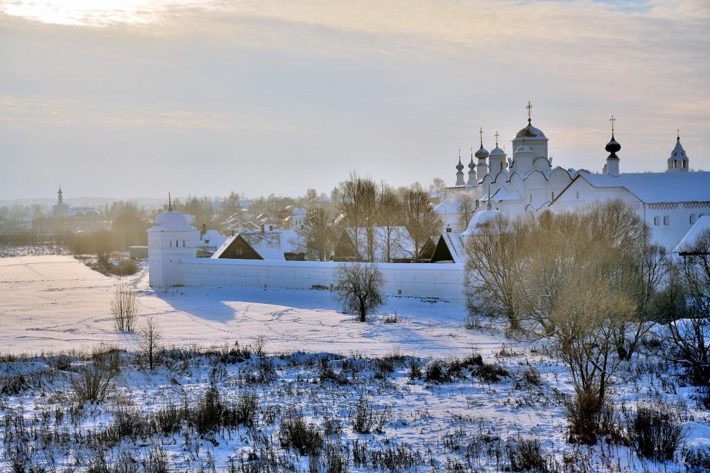 Морозный Суздаль, 28 декабря 2018). Цвет Новогодний! 08