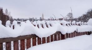 Нет, никогда такого снега  Еще не видела зима… (г. Суздаль)